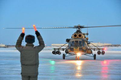 Очередная партия вертолетов ми-171ш поступила на вооружение в ввс казахстана