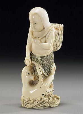Окимоно. японские статуэтки фото