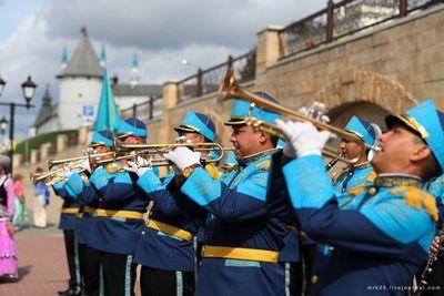 Оркестр национальной гвардии стал дипломантом международного конкурса в казани