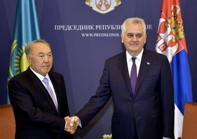 Подробности исторической встречи президентов казахстана и сербии