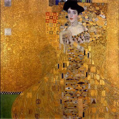 Портрет адели блох-бауэр i (золотая адель) густав климт