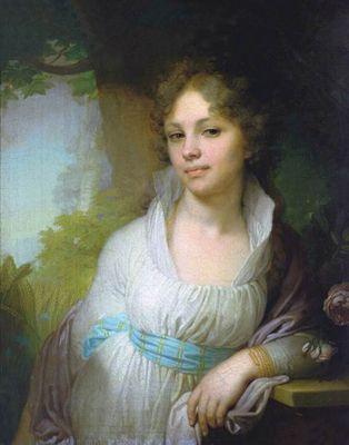 «Портрет лопухиной» картина в. боровиковского