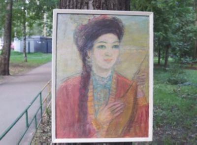 Портреты поэтессы сары тастанбеккызы будут храниться в музее акын сары