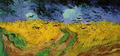 Последняя картина ван гога «пшеничное поле с воронами»