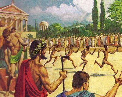 Прародителями олимпиады могли быть древние тюрки