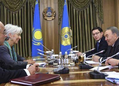 Президент казахстана провел встречу с директором-распорядителем мвф