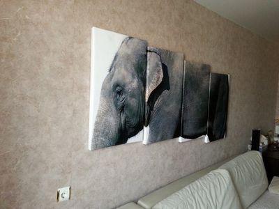 Применение модульных картин в оформлении комнат