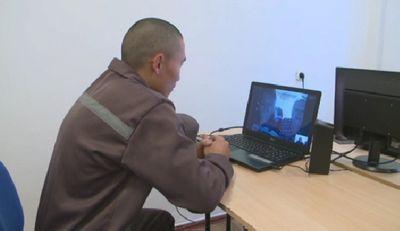 Примерных заключенных в карагандинской области награждают видеосвиданиями с родными