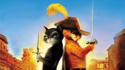 Про что мультфильм кот в сапогах?