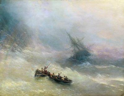 Радуга картина айвазовского