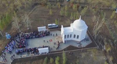 Реконструированный мавзолей ибрая алтынсарина торжественно открыли в костанайской области