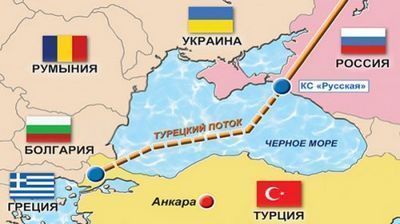 Россия начнет вторую нитку «турецкого потока» только после гарантий отес - «экономика»