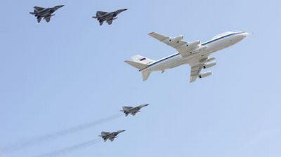 Россия отправила в сирию всевидящий самолет-разведчик ту-214р