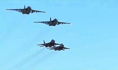 Российские и сирийские летчики впервые выполнили совместную боевую задачу
