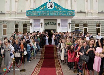 Русский театр драмы в астане открывает новый сезон
