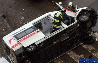 С начала года в астане произошло 10 дтп с участием скорой помощи
