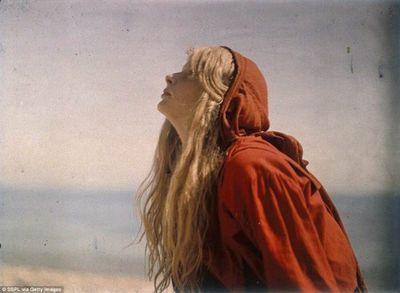 Самая первая цветная фотосессия в мире. фотограф мервин о'горман (mervyn o'gorman)