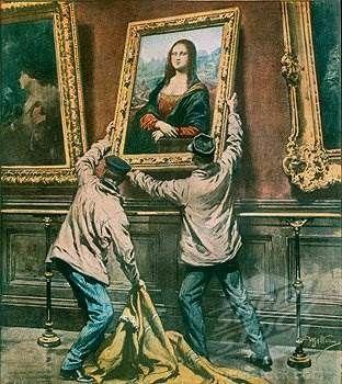 Самые известные картинные кражи