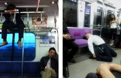 Самые смешные фото из общественного транспорта (20 фото)