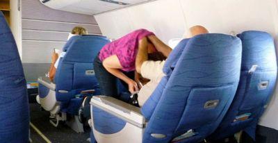 Самые смешные пассажиры самолётов (20 фото)