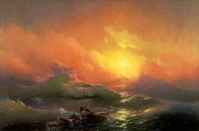 Самые знаменитые картины айвазовского