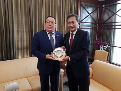 Сингапур: казахстан является лидером экономического развития в центрально-азиатском регионе