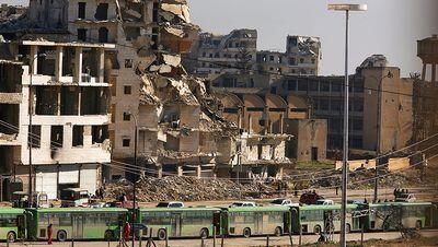 Сирийских боевиков вывозят из алеппо по поручению путина
