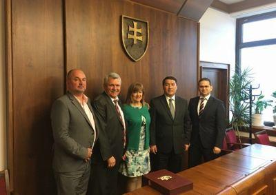 Словакия намерена расширять торгово-экономическое сотрудничество с казахстаном