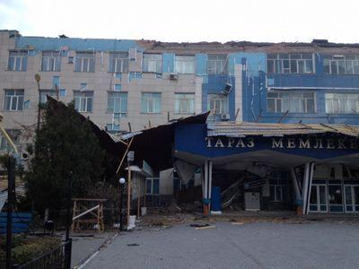 Сразу в нескольких регионах казахстана погода показала характер