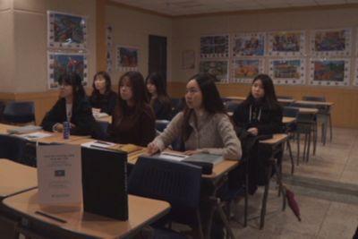 Студенты южной кореи активно изучают казахский язык
