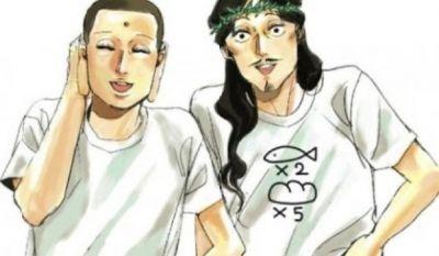 Святая молодежь: иисус и будда стали героями манги