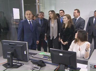 Телеканал «kazakh tv» презентовал новый формат вещания