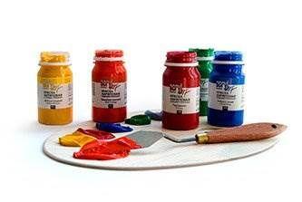 Темперные и художественные краски