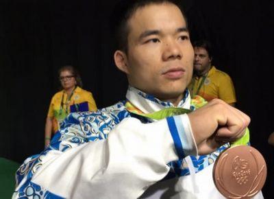 Тяжелоатлет ф.харки завоевал бронзу на олимпиаде в рио