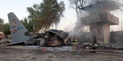 Транспортный самолет разбился в афганистане из-за рассеянности командира
