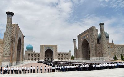 Узбекистан проводил в последний путь своего президента ислама каримова