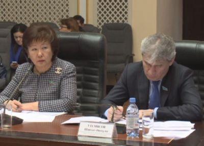 В актобе депутаты обсудили экологический кодекс