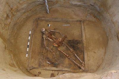 В актобе найдены останки воинов сарматского периода с полным вооружением