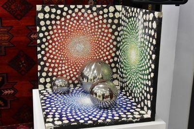 В астане проходит выставка итальянских мастеров мозаики «мозаика фриули»
