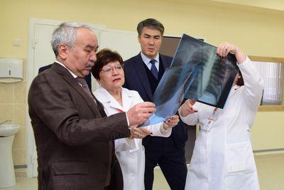 В астане завершили строительство крупнейшего в казахстане противотуберкулезного диспансера