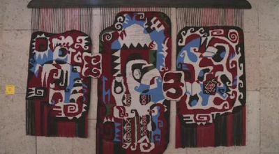 В бишкеке открылась выставка гобеленов известного казахстанского художника