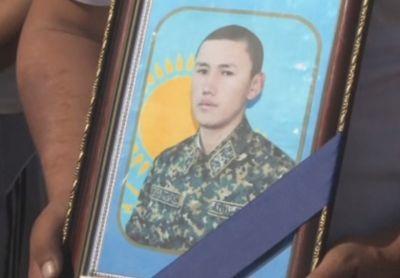В юко похоронили солдата-срочника, погибшего в теракте в актобе