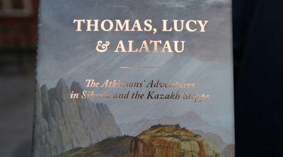 В лондоне презентовали книгу о путешествии англичанина по великой степи