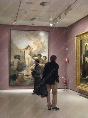 В мадриде открывается выставка сезанна