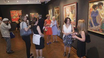 В нью-йорке завершается выставка шедевров музея им. кастеева