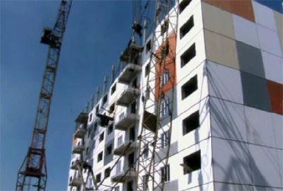 В павлодаре достраивают первый многоэтажный дом по новой технологии