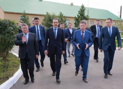 В рамках рабочей поездки в акмолинскую область к.масимов посетил ряд предприятий