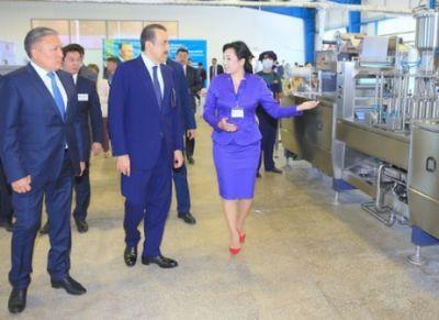 В рамках рабочей поездки в карагандинскую область к.масимов посетил ряд предприятий