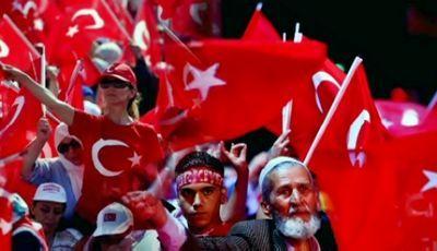 В стамбуле на митинг в поддержку президента турции вышли более миллиона человек