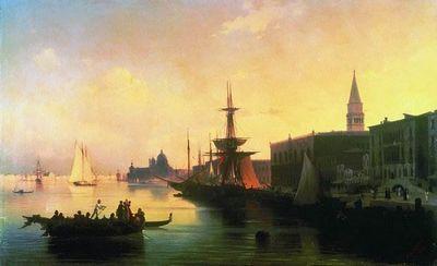 Венеция картина айвазовского